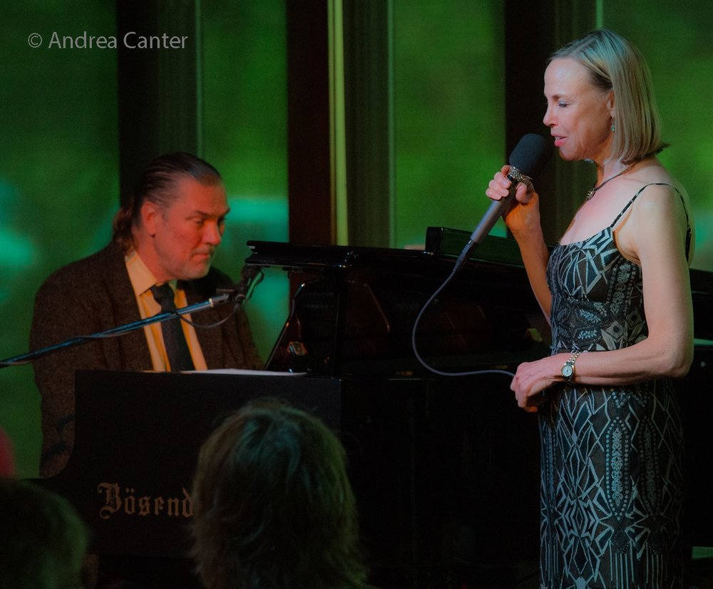NYC-based pianist Jon Weber & Connie Evingson.