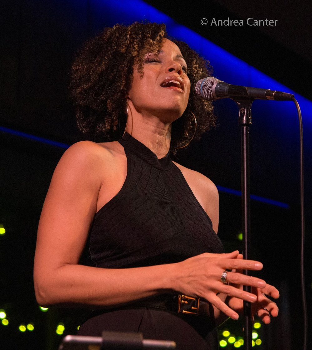 Gillian Margot, LA-based jazz vocalist.