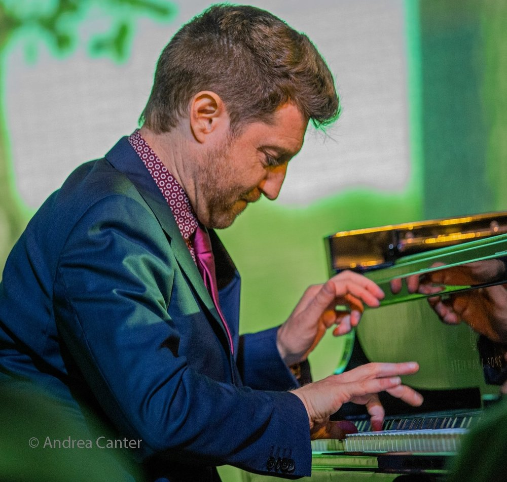 Jazz piano genius Benny Green.