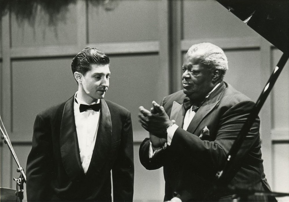 Benny with Oscar Peterson
