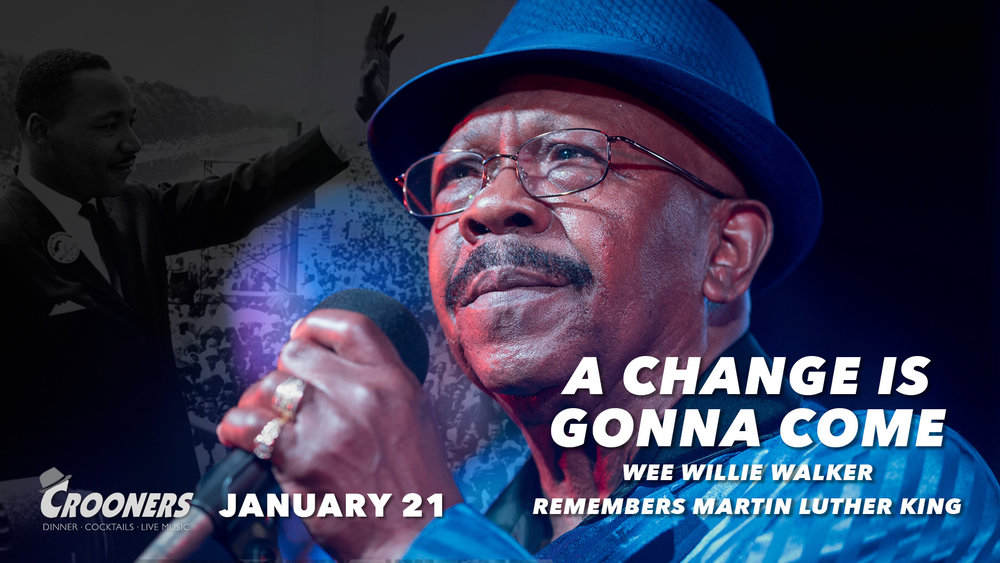 A Change Is Gonna Come - Wee Willie Walker Remembers Martin Luther King Jr.At 77 years old, Wee Willie Walker has seen, heard and sung it all. From touring the country in the heat of the civil rights movement to headlining international music festivals.