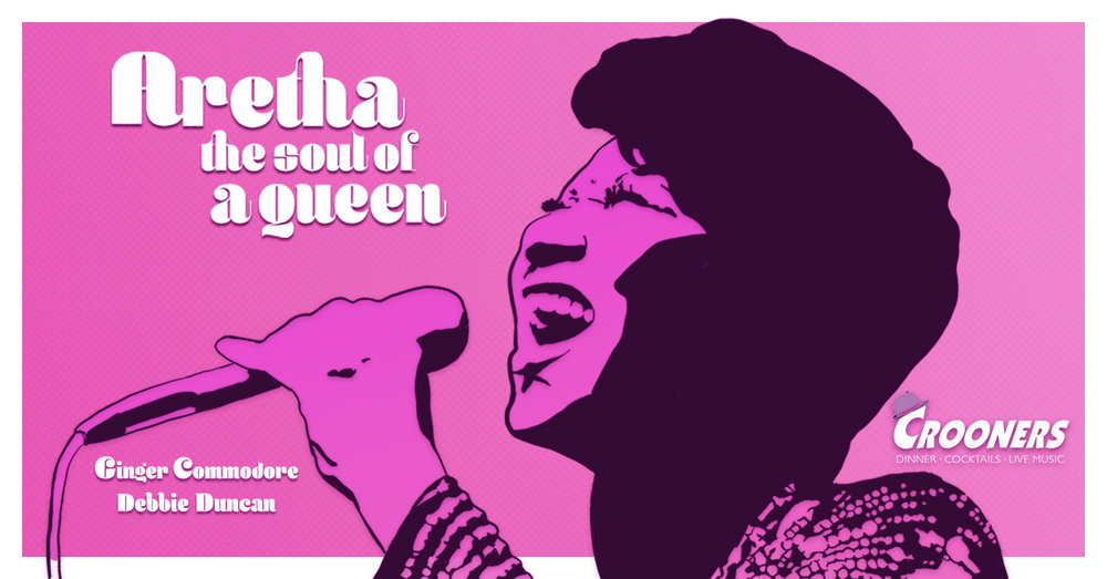 ARETHA - Soul of a Queen - Ginger Commodore & Debbie Duncan Salute 'The Queen of Soul'