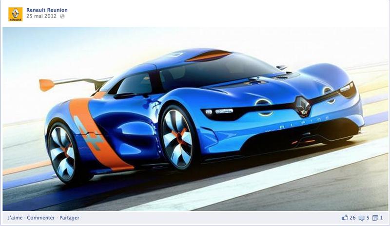 Mise à jour du 31 mars 2013 :     Notre mission se termine aujourd'hui... Bonne route à tous les fans de Renault Réunion, si nombreux à nous avoir rejoint ;-)