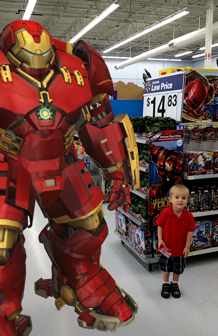 Bring The Avengers characters to life at Walmart, with the magic of Augmented Reality, connected to in-store POS signage and packaging.