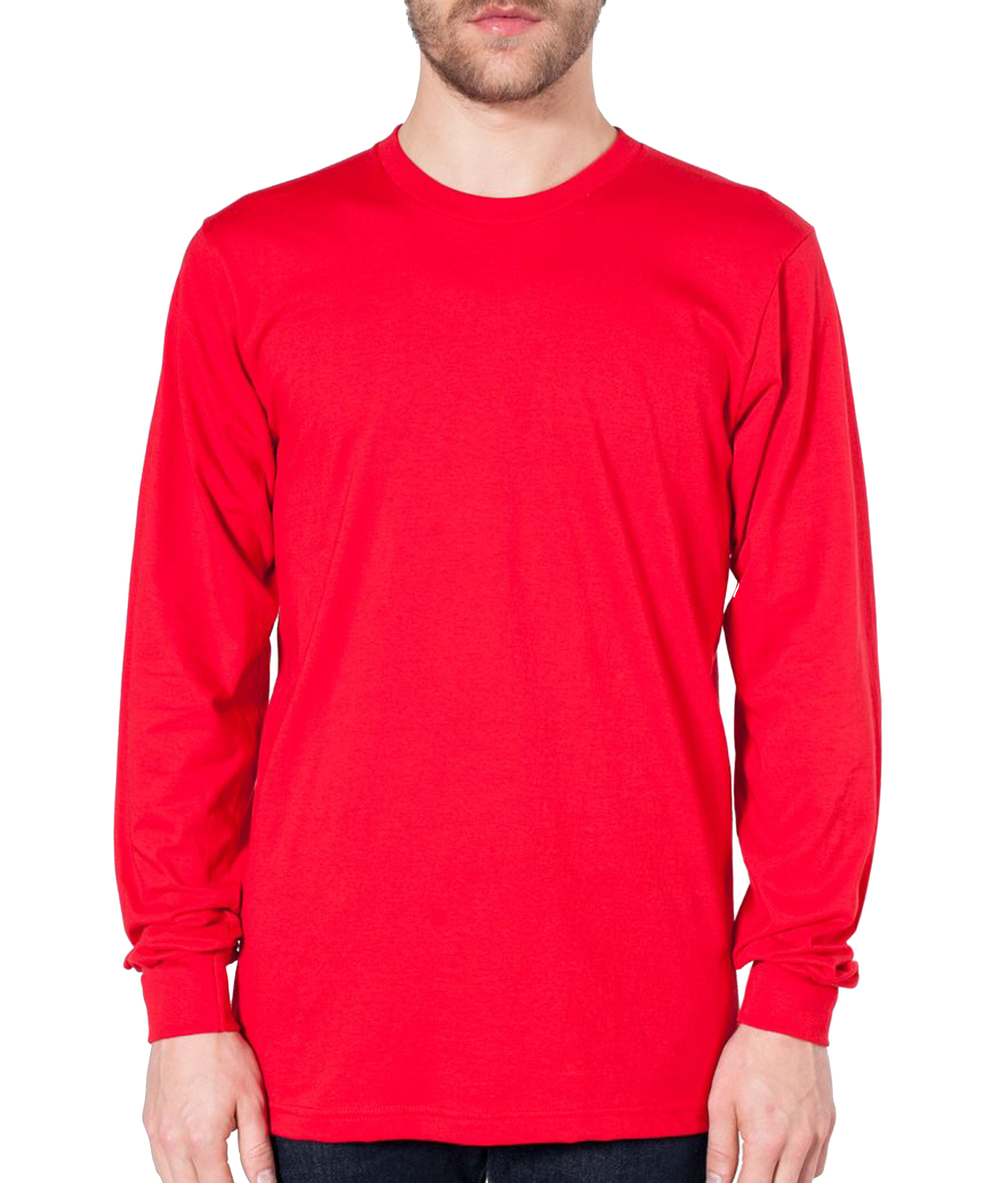 American Apparel Long Sleeve Jersey T-Shirt
