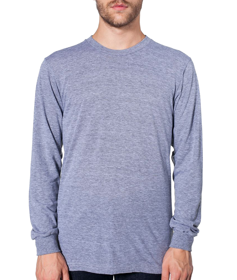 American Apparel Long Sleeve Triblend T-Shirt