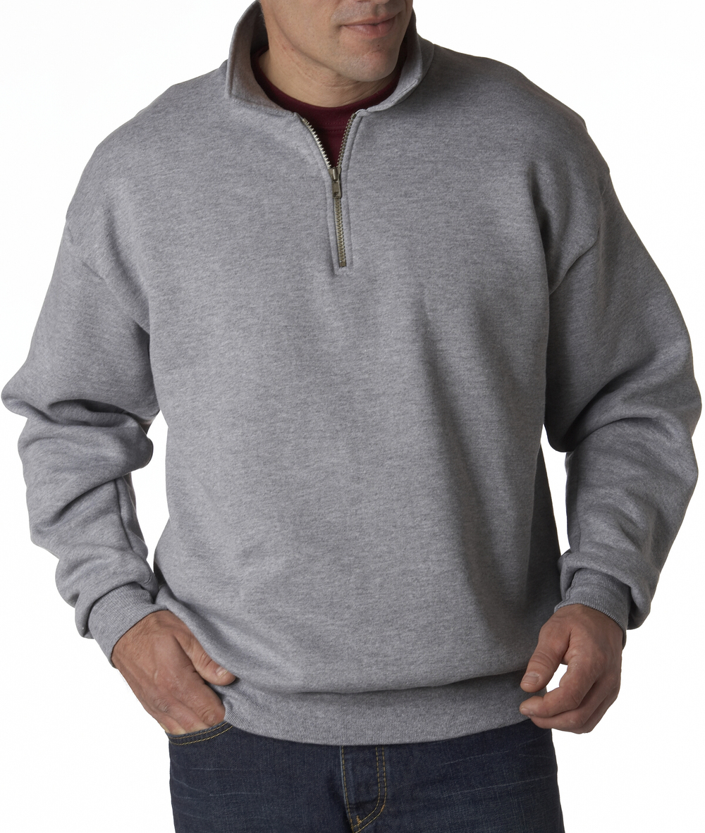 Jerzees SuperSweats 1/4 Zip Collared Sweatshirt