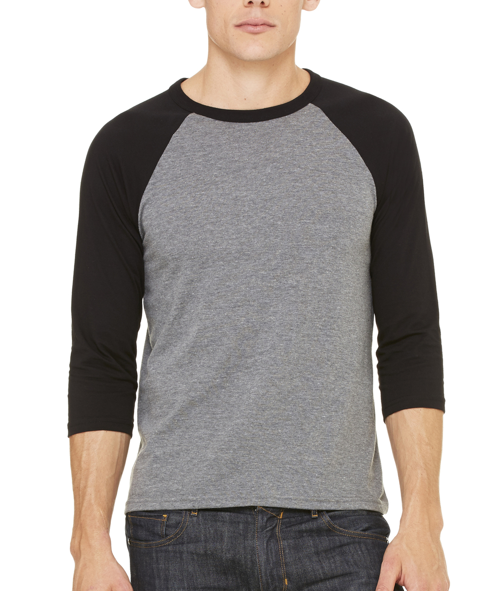 Bella + Canvas 3/4 Sleeve Raglan