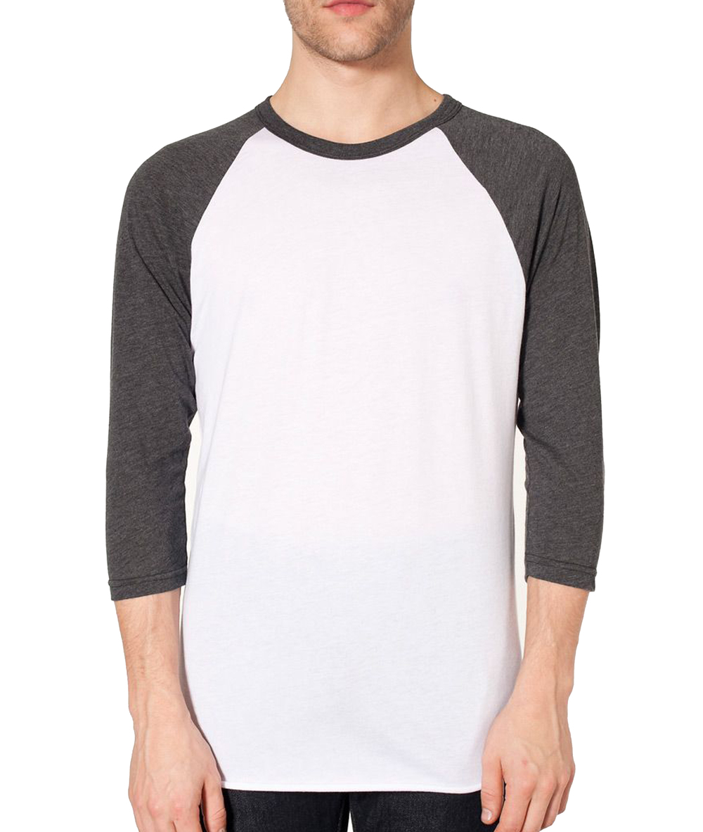 American Apparel 3/4 Sleeve Raglan