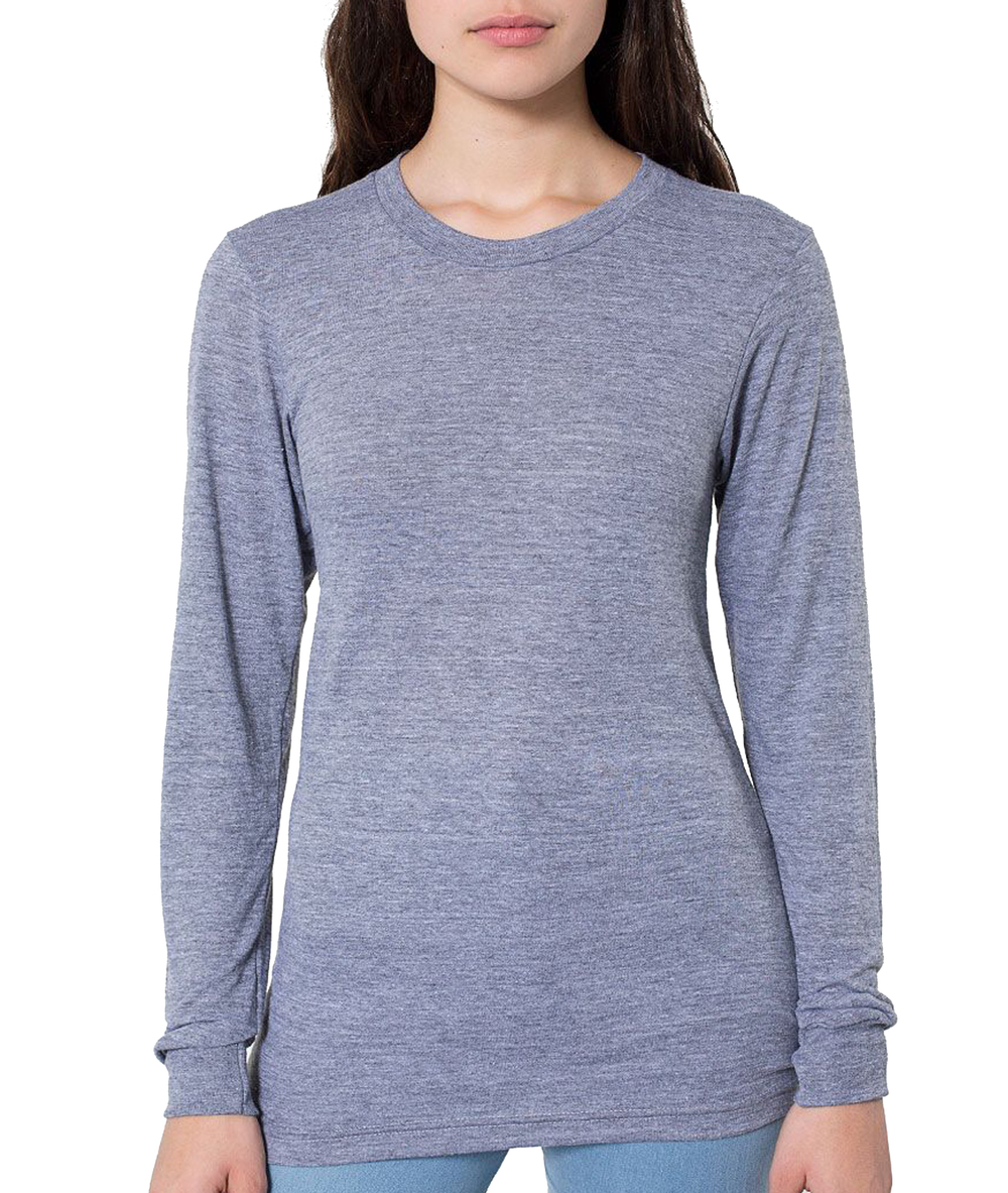 American Apparel Long Sleeve Ladies' Triblend