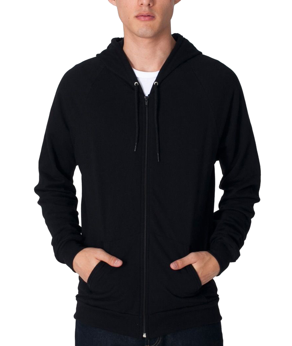 American Apparel Full-Zip Hooded Sweatshirt