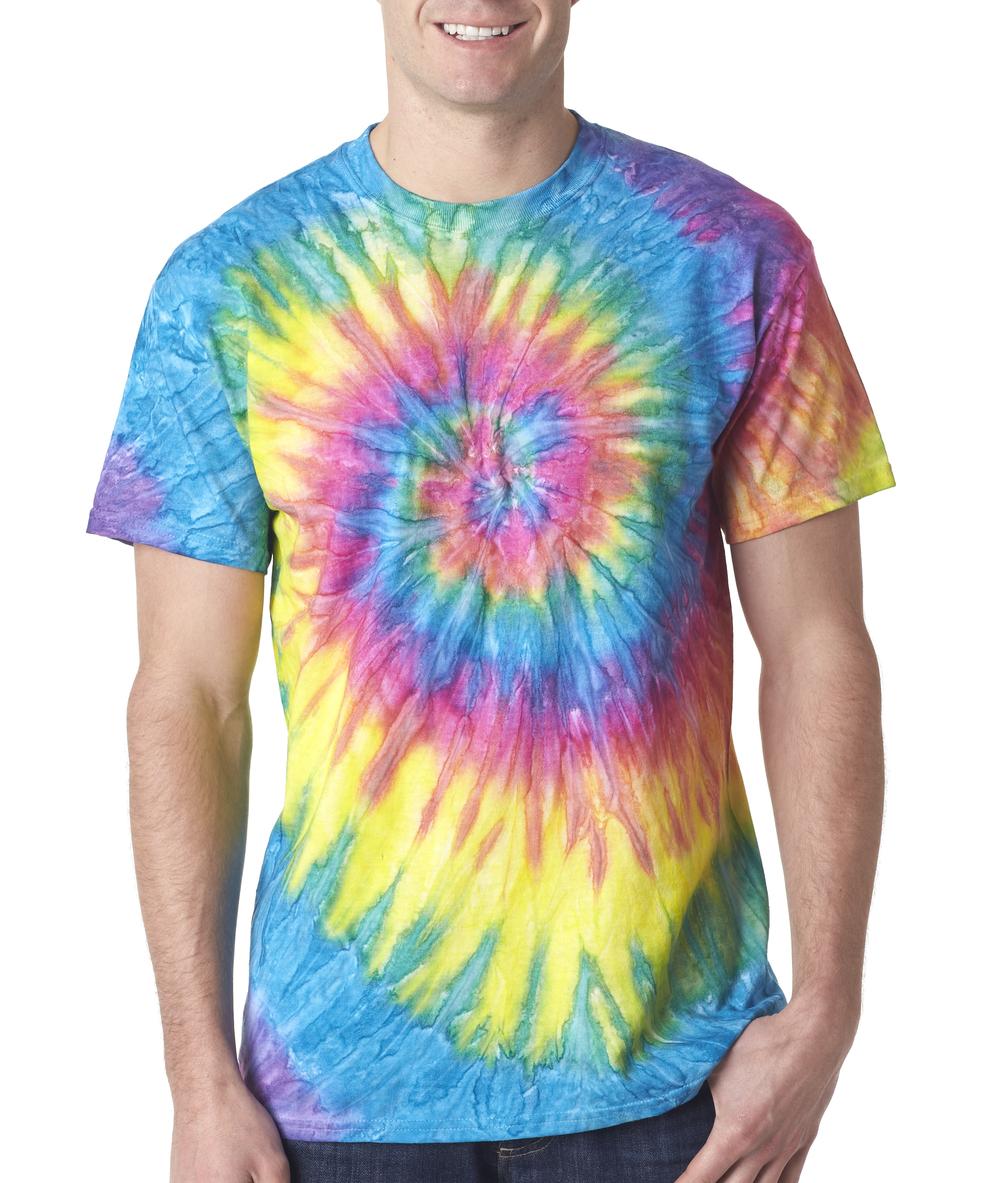 Gildan tie dye t shirt custom screen printing in for Tie dye printed shirts