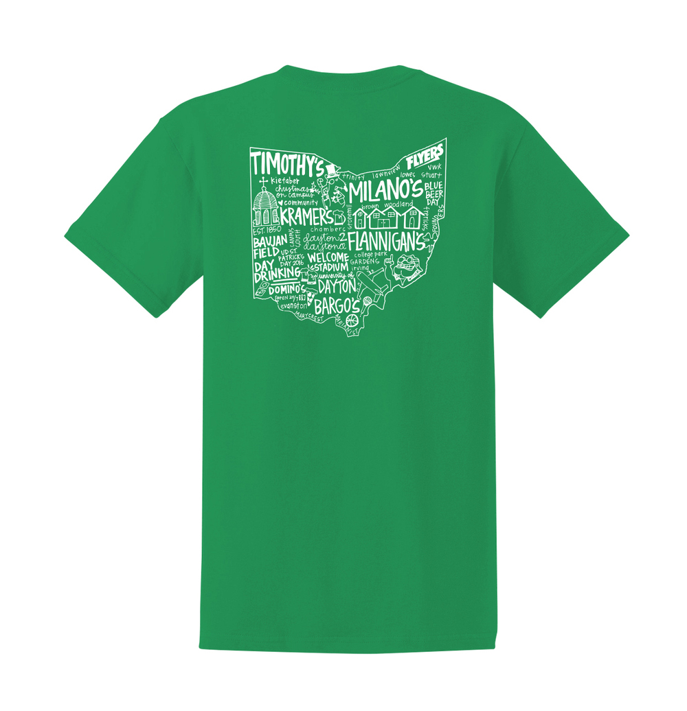 Ud St Patricks Day Short Sleeve T Shirt Custom Screen Printing