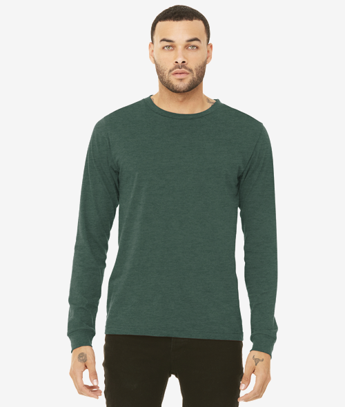 Bella+Canvas 3501 - Unisex Jersey Cotton Long Sleeve T-Shirt