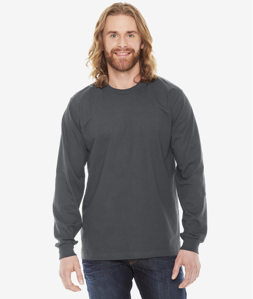 American Apparel 2007W - Unisex Jersey Cotton Long Sleeve T-Shirt