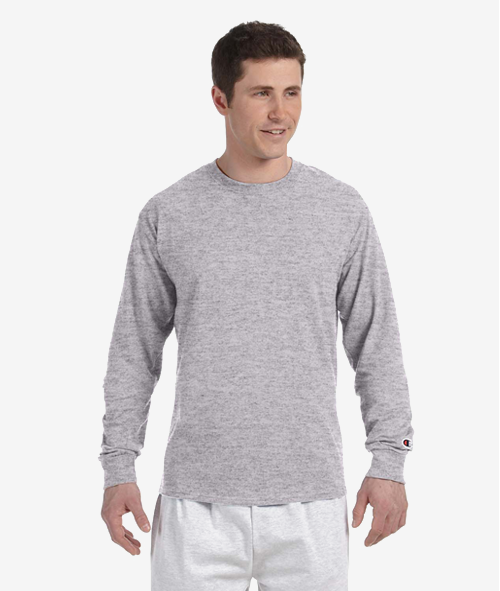 Champion CC8C - Adult 5.2 oz.Cotton Long-Sleeve T-Shirt