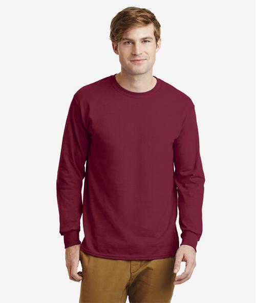 Gildan 24000 - Unisex 6 oz. Cotton Long Sleeve T-Shirt