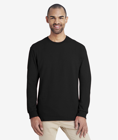 Gildan LS Hammer Tee - Unisex 6 oz. Jersey Cotton Long Sleeve T-Shirt