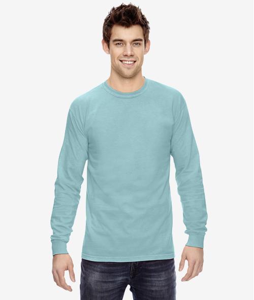 Comfort Colors C6014 - Unisex 6.1 oz Jersey Cotton Long Sleeve T-Shirt