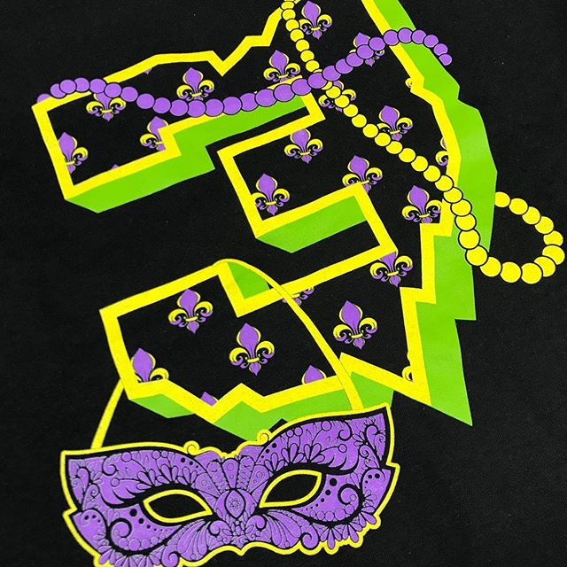 It may be a day late for #mardigras2019 but it is #ashwednesday2019 ! Wanted to share this one we created for @threesabovehigh and their Mardi Gras celebration in #neworleans (Wish we could've gone)!! 🎉🙌 . . . #beer #tshirts #mardigras #printedshirts #popsprintedapparel #printedbypops #asseenincolumbus #614 #asseeninneworleans