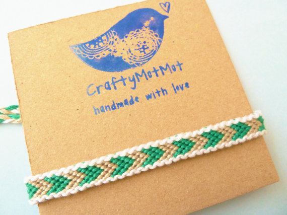 friendship bracelets on etsy