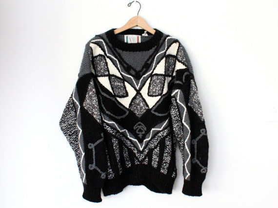 Novo 80's Vintage Knit Sweater - SOLD OUT