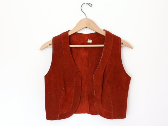 Vintage Cowhide Vest - SOLD OUT