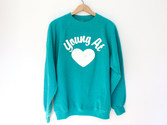 Vintage Young at Heart Sweatshirt - SOLD OUT