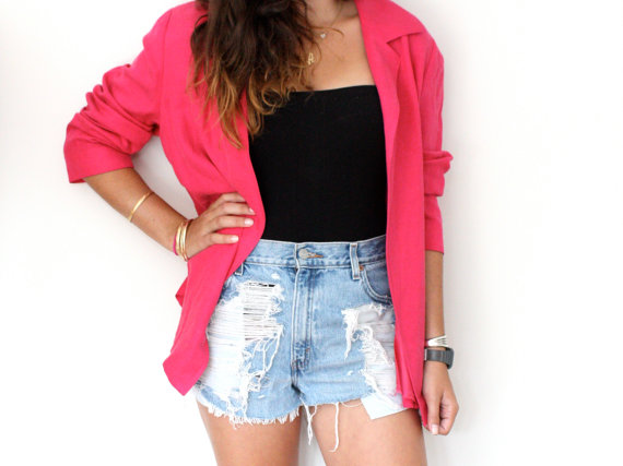 Vintage Pink Blazer - SOLD OUT