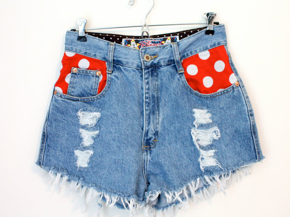 Vintage Disney Pocket Shorts - SOLD OUT