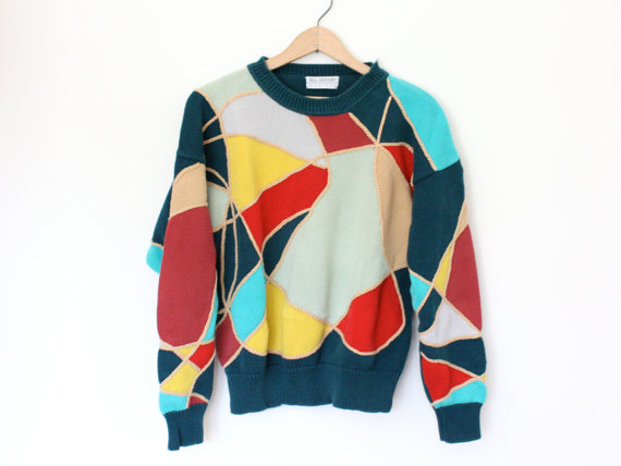 Vintage Colorful Sweater - SOLD OUT