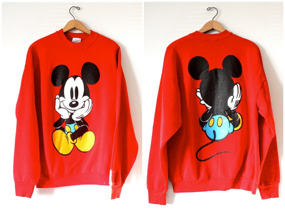 Vintage Walt Disney Mickey Mouse Sweatshirt - SOLD OUT