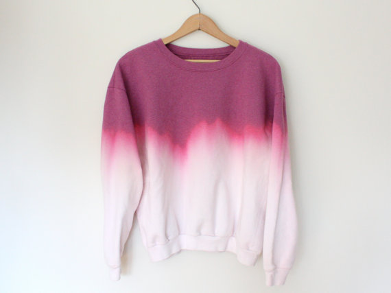 Ombre Pink Sweatshirt - SOLD OUT