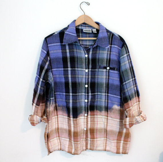 Bleached Button Down Shirt - SOLD OUT