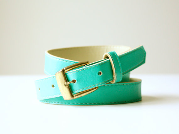 Vintage Turquoise Belt - SOLD OUT