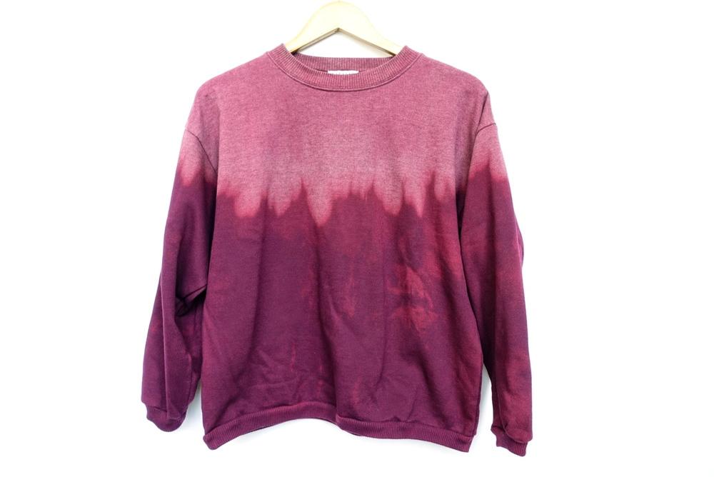 Ombre Pink Sweatshirt - $33
