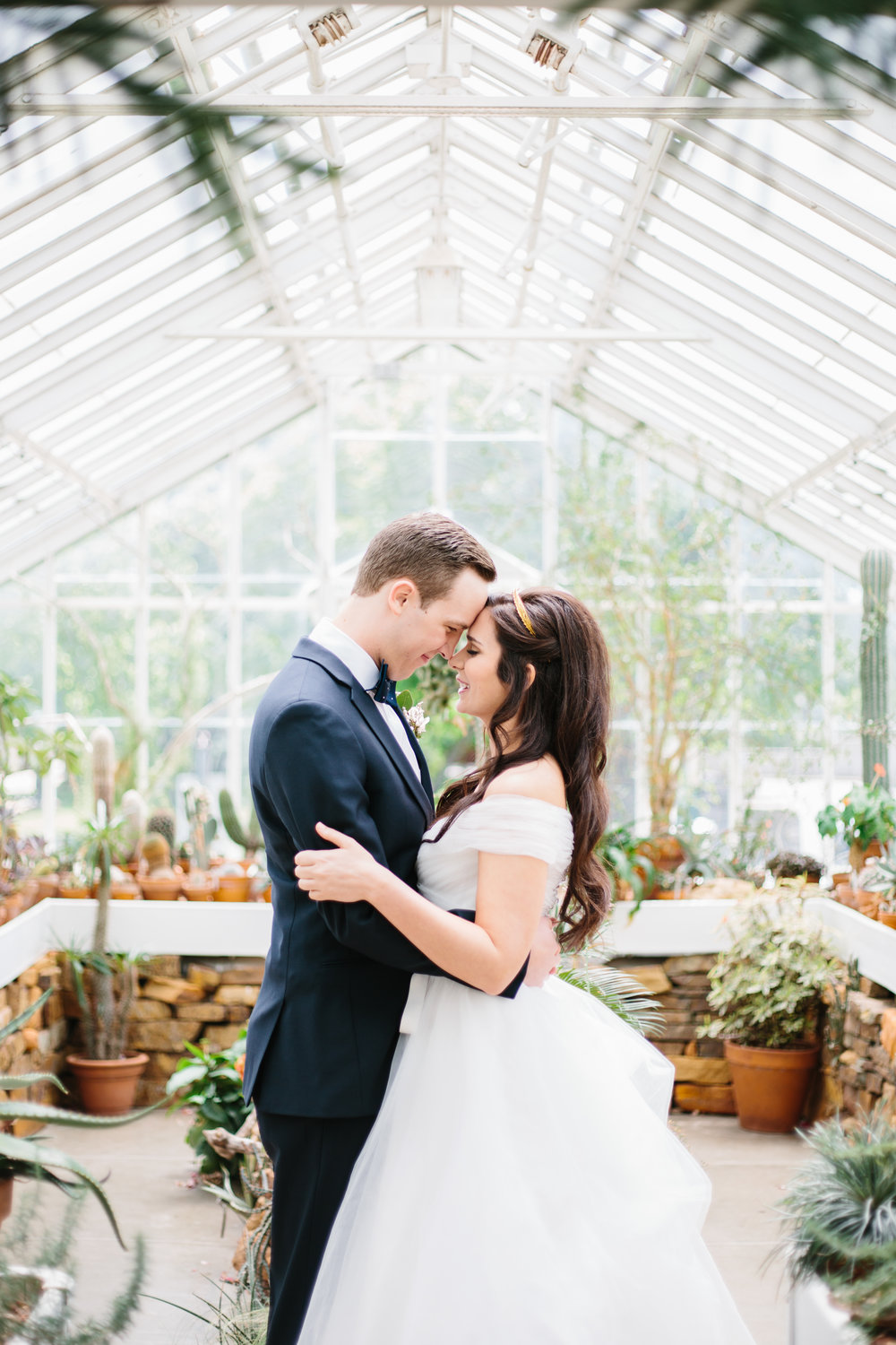 Laurel + Michael | Tulsa Garden Center