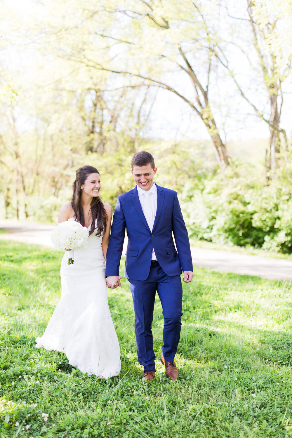 Hannah + Justin | St. Henry's Church