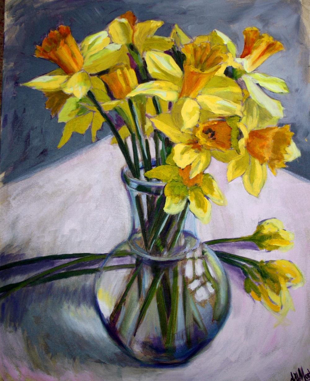 Daffodils by Karen Mortimore.JPG
