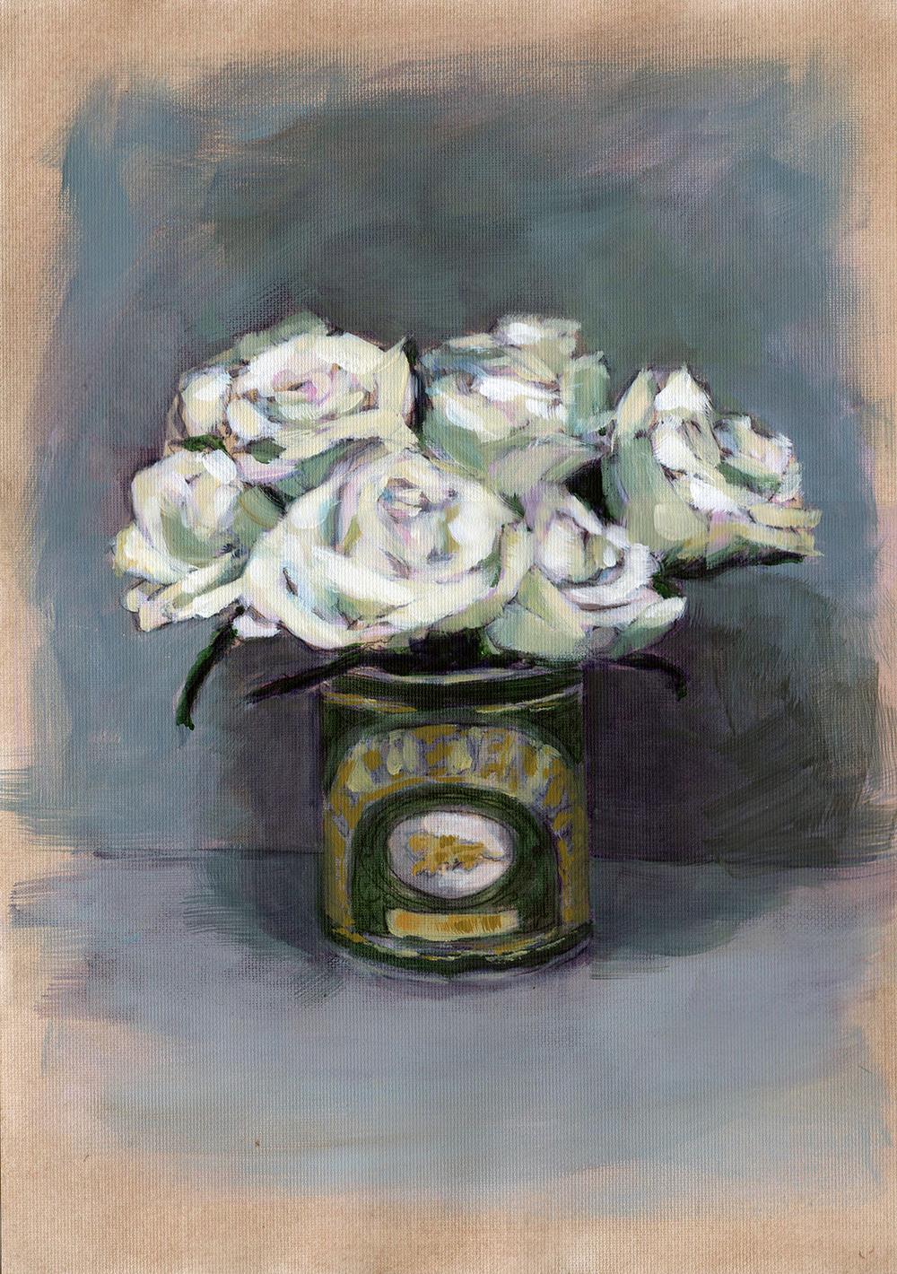 Cream Syrup Roses by Karen Mortimore.jpg