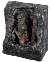 Debbie Court's 'When Coal Was King' - Papier-mâché and Coloured Tissue Paper. Click the pic for more info.