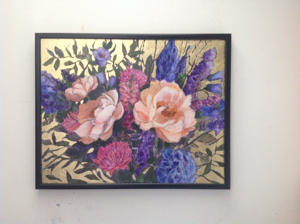 We're selling this original without the frame, but it would suit a contemporary or a traditional moulding...