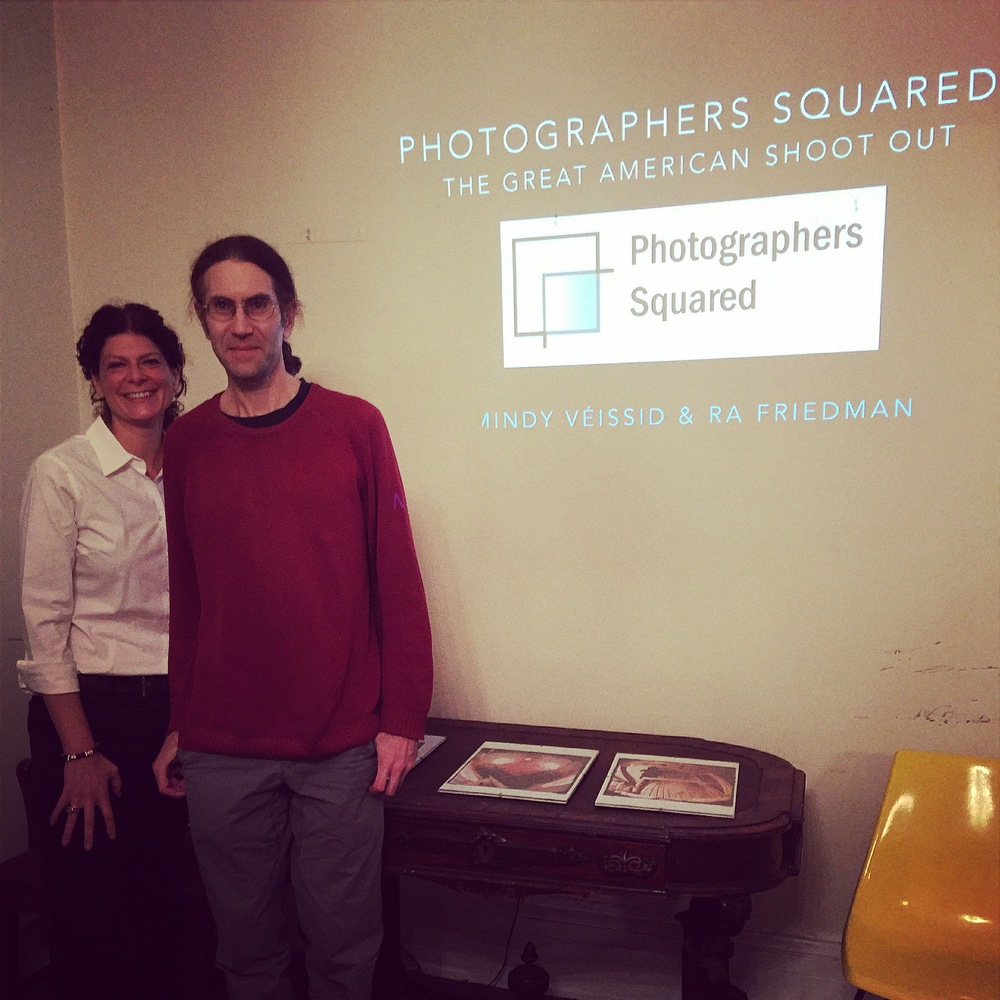 Mindy & RA presenting at Pictorial Photographers of America Photo Club on Nov 25th