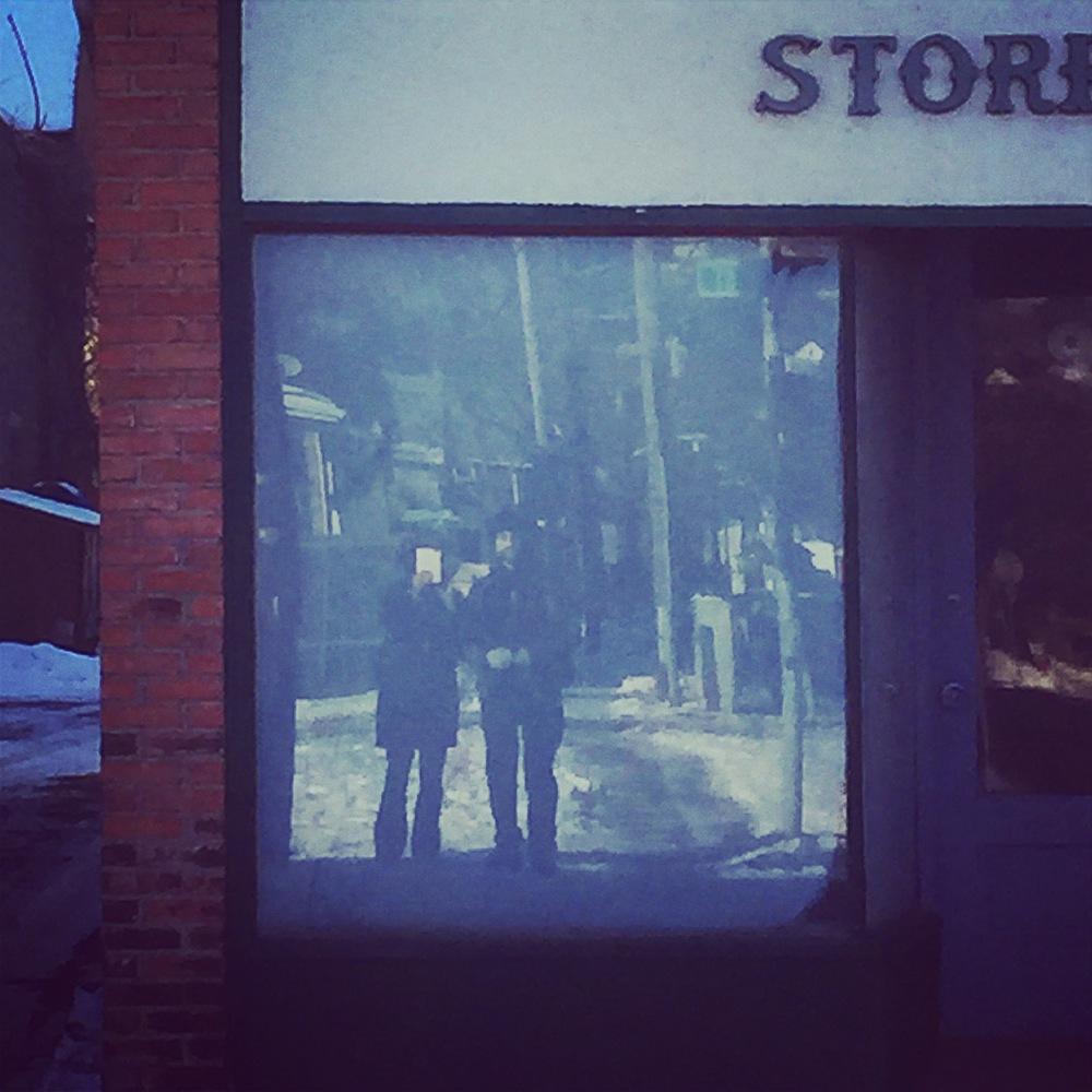 Selfie on Clinton St, Binghamton