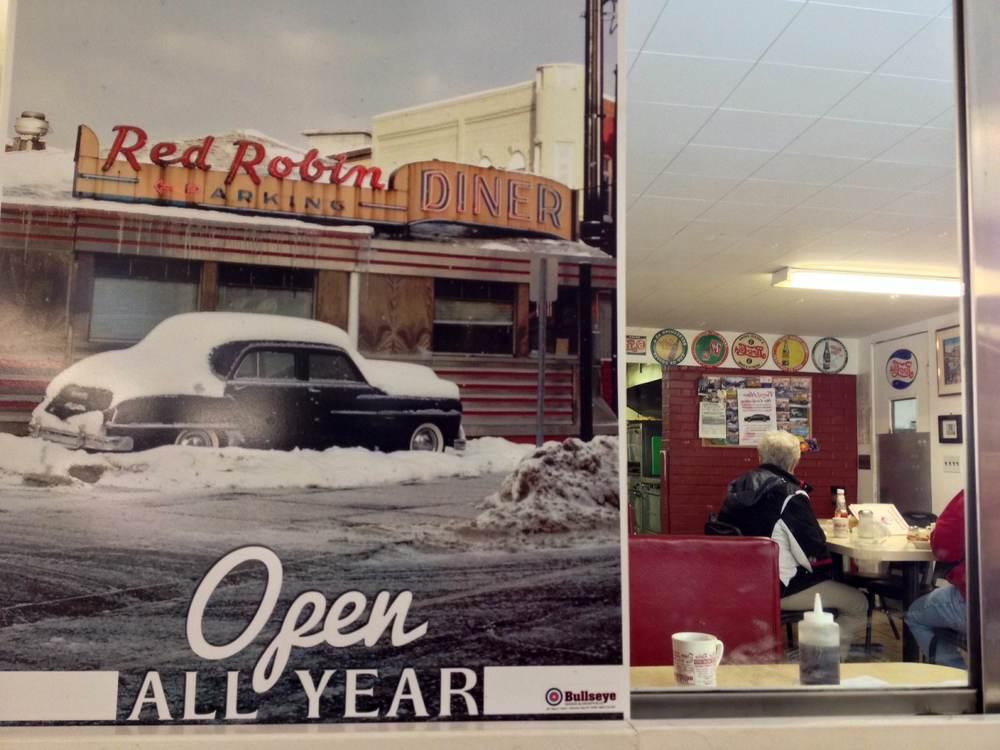 Breakfast at Red Bird Diner, Binghamton