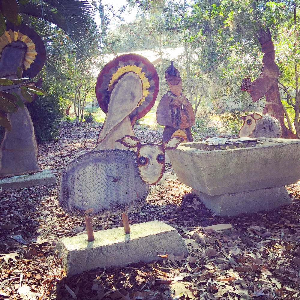 Nativity Scene, Mepkin Abbey, Charleston SC