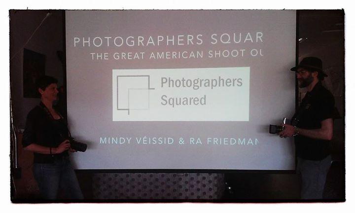 Presentation at Beatnik Lounge, Joshua Tree, CA