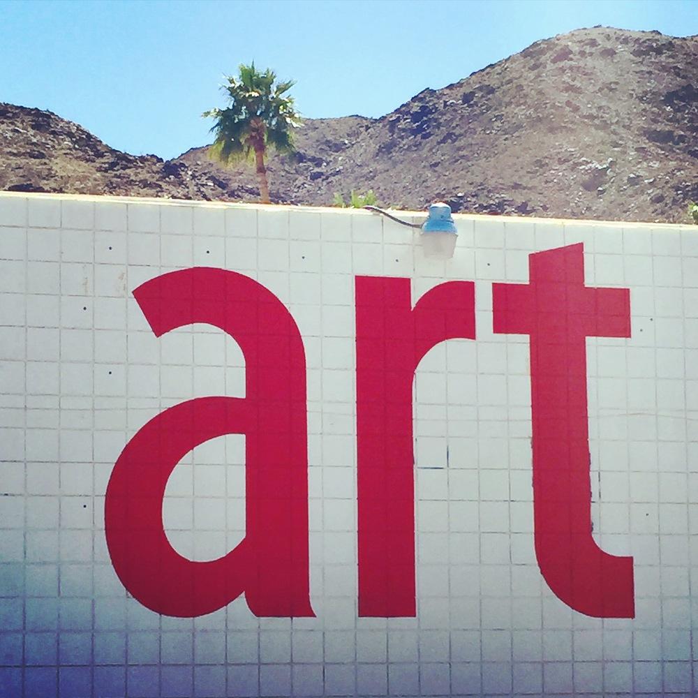 'art' Palm Springs, CA