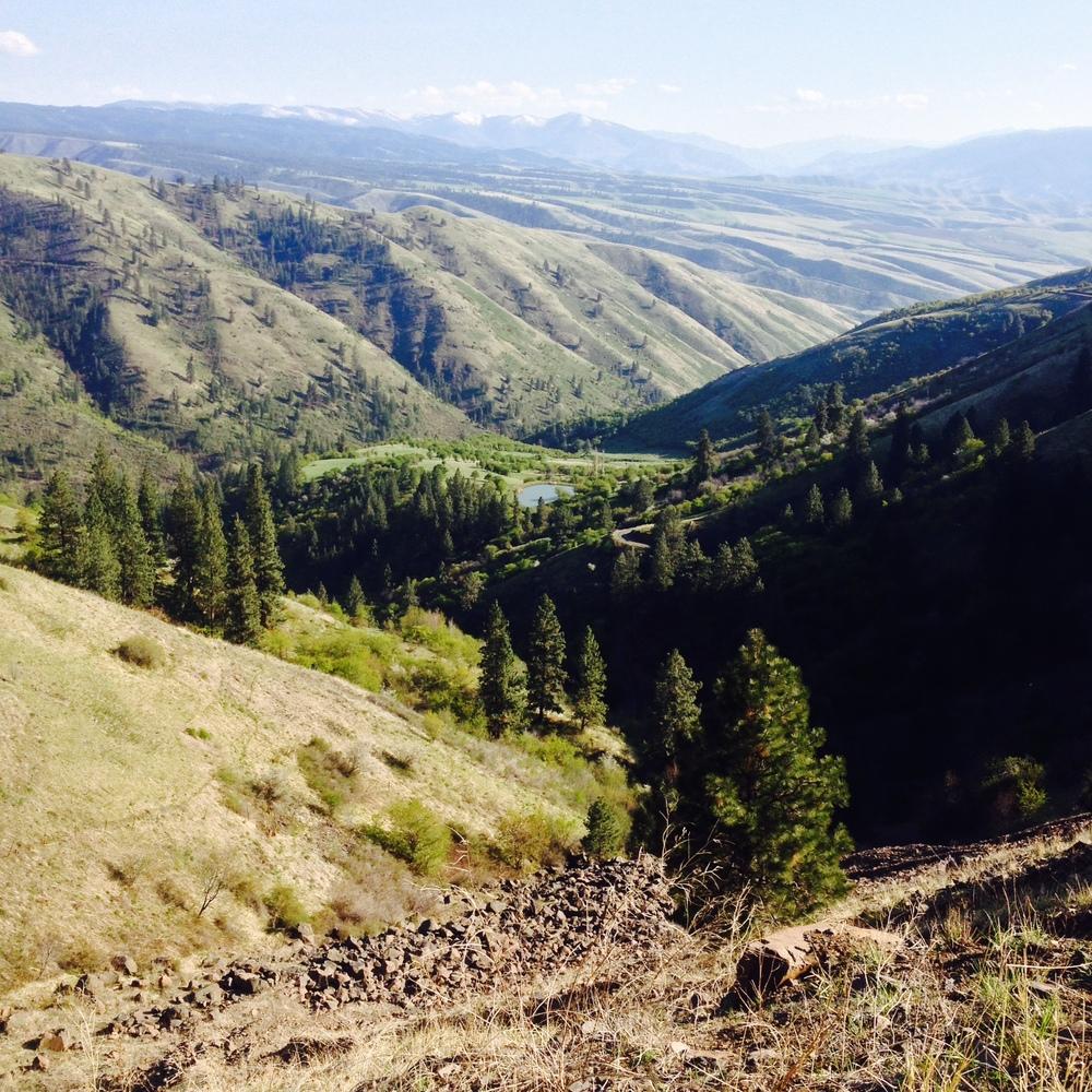 Salmon Valley, Nez Perce