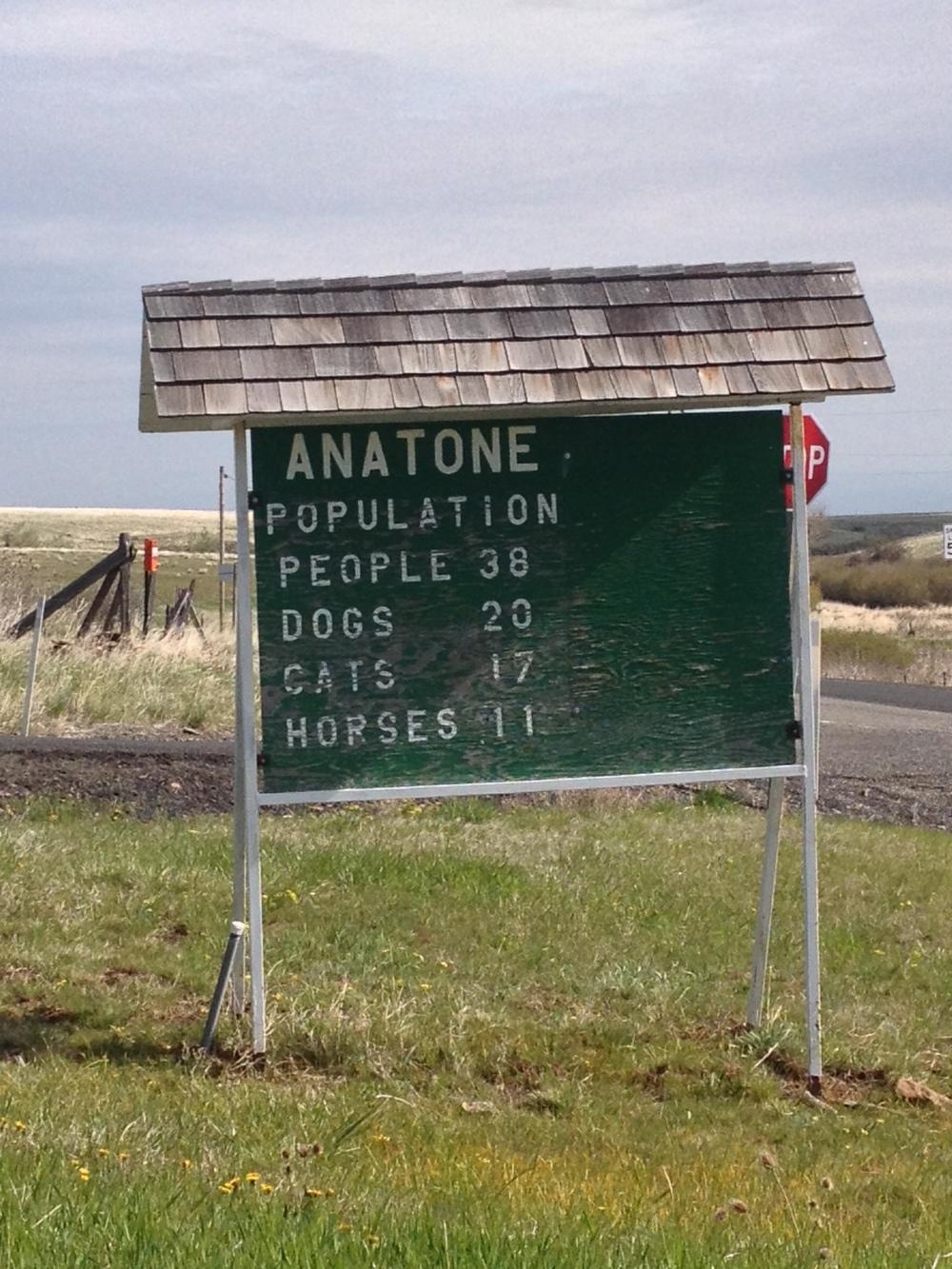 Town of Anatone, WA